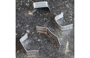 CLIPBAND TIES 40mm SILVER